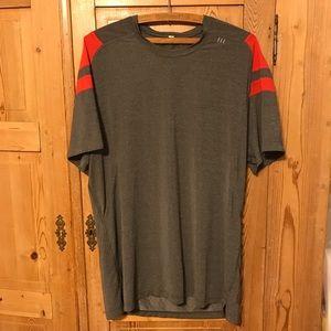 Lululemon silverescent precision metal t shirt